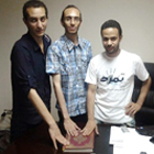 Mahmoud Badr, Mohamed Abdel-Aziz and Hassan Shaheen