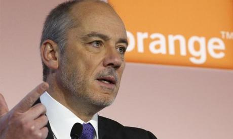 French telecom operator Orange Chairman and CEO Stephane Richard