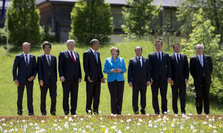 G- 7 summite leaders