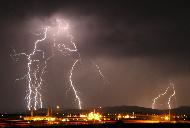 Picture of the day: Mass lightning mesmerises California