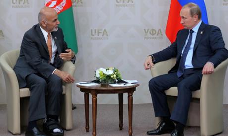 Ghani, Putin