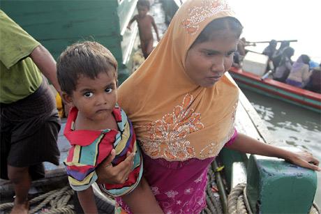 Rohingya and Bangladeshi migrants