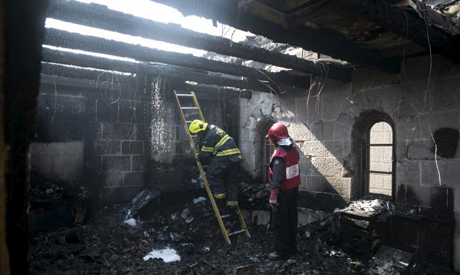 Church Arson attack