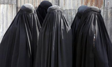 Full face veil