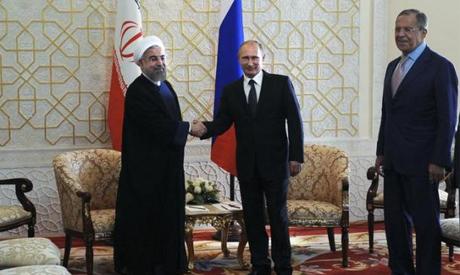 Rouhani & Putin