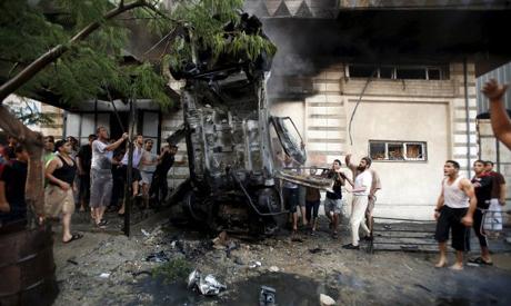 Gaza car blasts