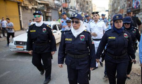 Egyptian policewomen