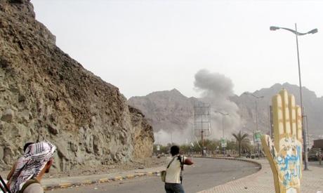 Saudi-led air strike
