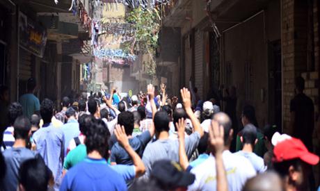 Pro-Morsi protests