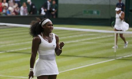 Serena Williams of the U.S.A.