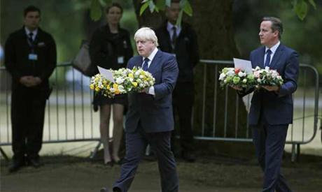 London suicide memorial