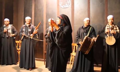 Mazamir Al Nil troupe