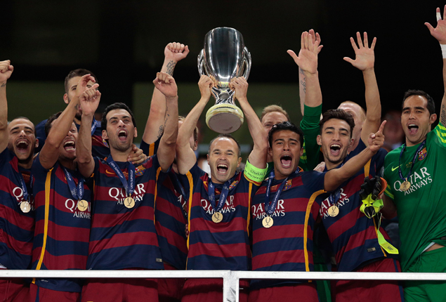 PHOTO GALLERY: Barcelona clinch UEFA Super Cup title after Sevilla victory