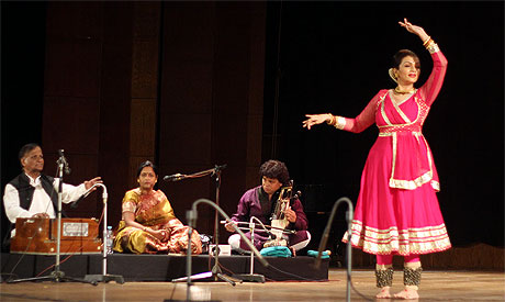 Prachee Shah performs in Cairo