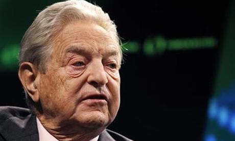 Billionaire financier George Soros