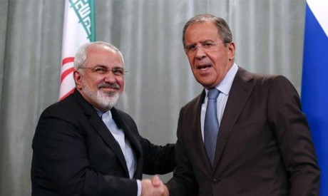 Russian foreign minister Sergei Lavrov and his Iranian counterpart Mohammad Javad Zarif