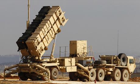 U.S. Patriot missile system