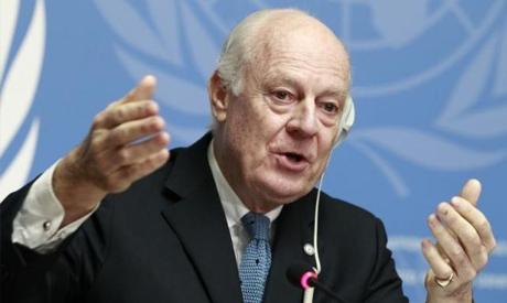 United Nations Special Envoy of the Secretary-General for Syria Staffan de Mistura