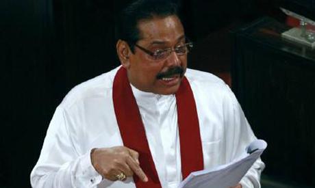 Ex-Sri Lanka leader Rajapakse