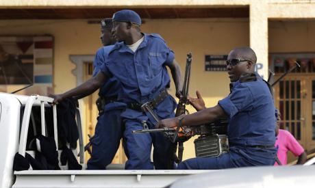 Burundi political tension