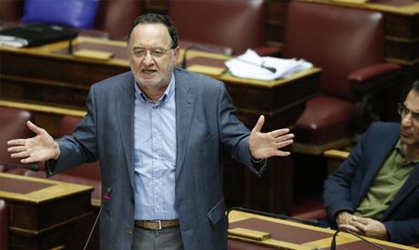 Lawmaker Panagiotis Lafazanis