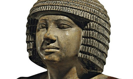 The Egyptian statue of Sekhemka