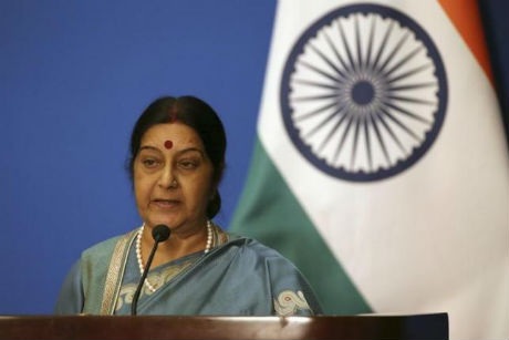 Indian FM Sushma Swaraj