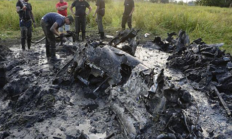 Wreckage of Soviet WWII Plane in Poland