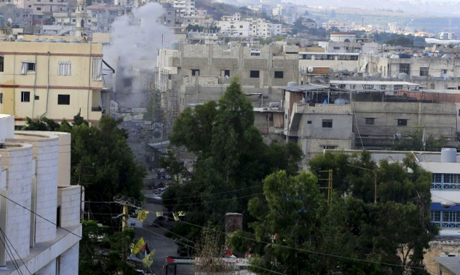 Clashes in Palestinian Refugee Camp