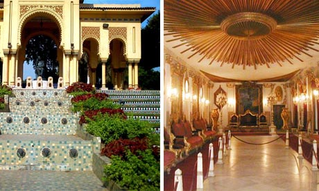 El-Manial palace/Andalus garden