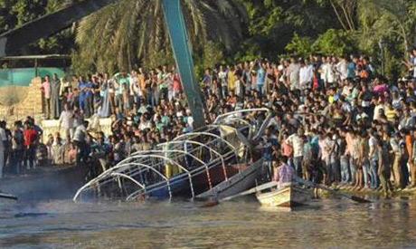 Nile boat collision