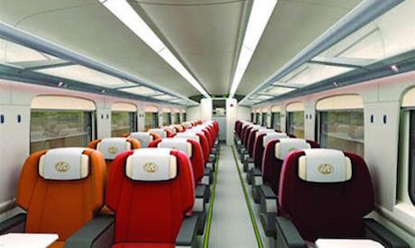 New Egyptian train