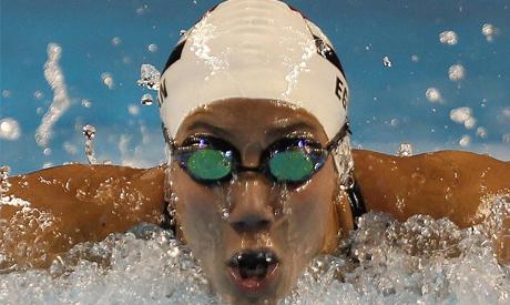 Egyptian swimmer Farida Osman