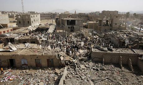 Saudi-led airstrikes in Yemen