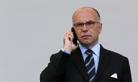 French Interior Minister Bernard Cazeneuve