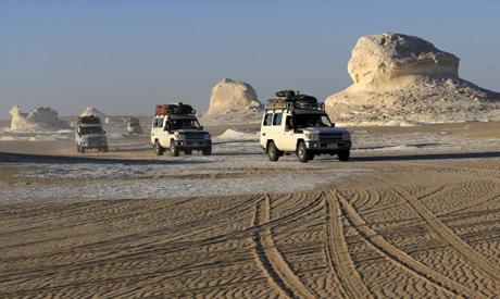 Egyptian western desert