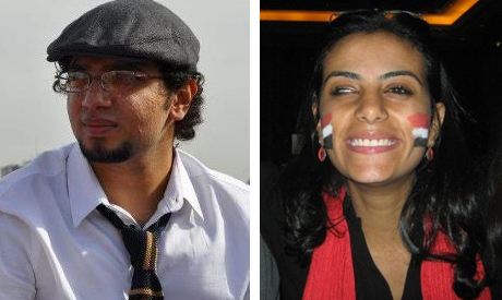 Youssef Shaaban and Mahienour El-Masry