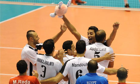 Egypt Volleyball players