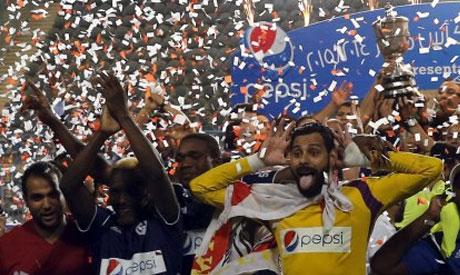 Zamalek goalkeaper Mahmoud Genish