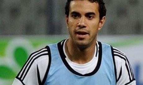 Zamalek striker Ahmed Hassan Mekky