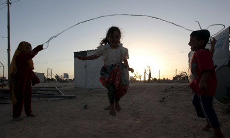 Iraqi displaced children