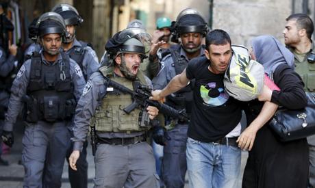 Israeli abuses palestinian