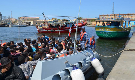 Egyptian migrants