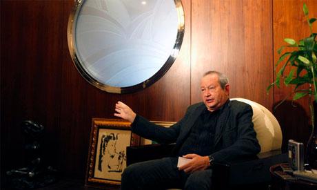 Egyptian tycoon Naguib Sawiris