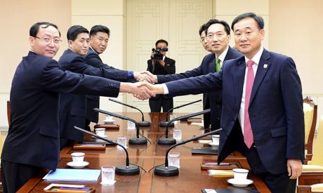 North, South Korea talks