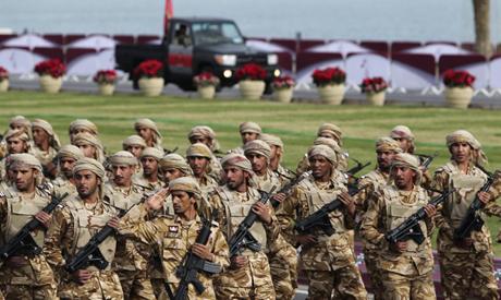 Qatari forces