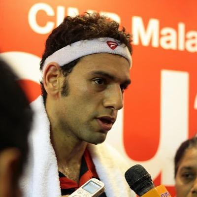 Squash player Mohamed El-Shorbagy