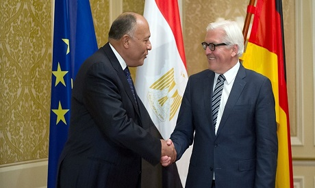 The two foreign ministers