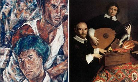 Americo Lozano and Evaristo Baschenis