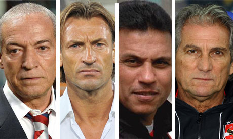 Candidates for Ahly job